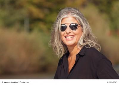 Portrait of women in outdoors