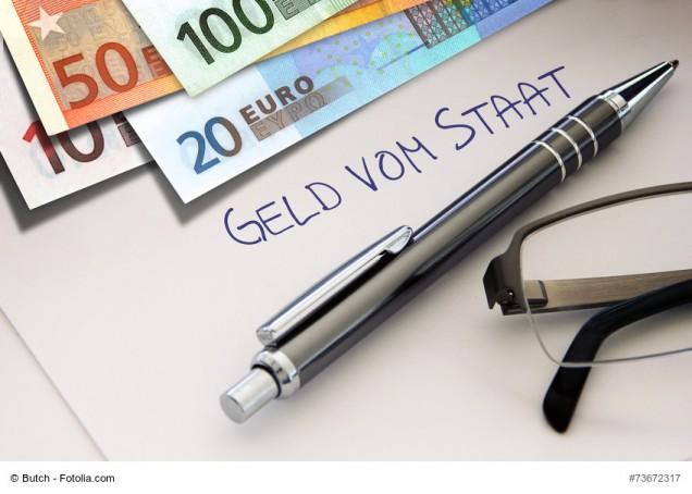 Geld und Stift