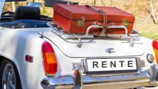 Oldtimer mit Kennzeichen Rente