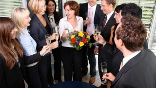 Feiern im Kollegenkreis