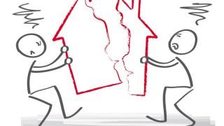 Streit ums Haus