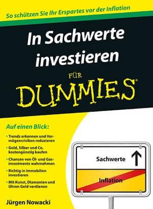 Cover In Sachwerte investieren für Dummies