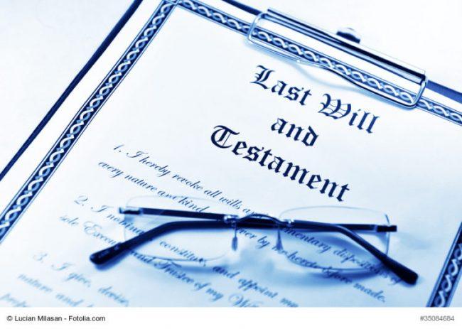 Last Will an Testament