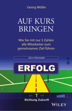 """Buchcover """"Auf Kurs bringen"""""""