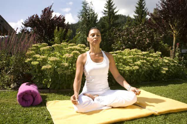 Meditation im Sporthotel Achensee