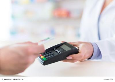 Bezahlen mit EC-Karte in der Apotheke