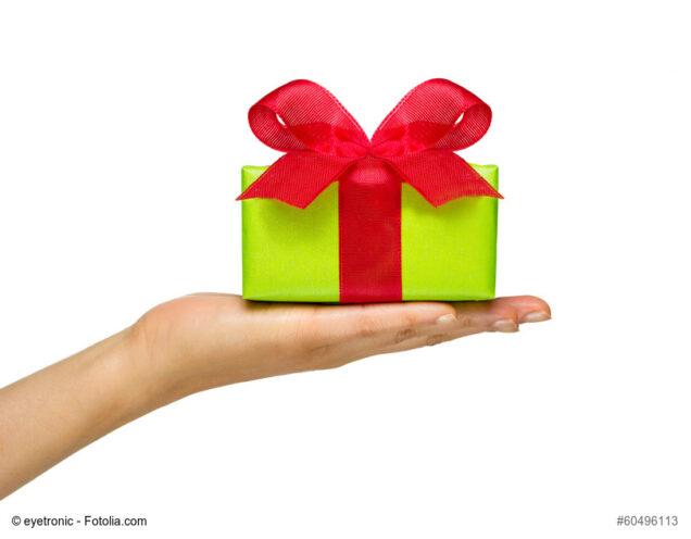 Geschenk zum Valentinstag