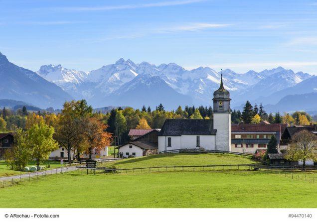 Dorf in Bayern