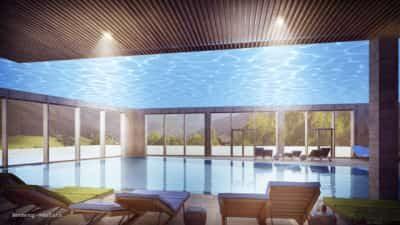 Pool im Hotel Dachsteinkönig