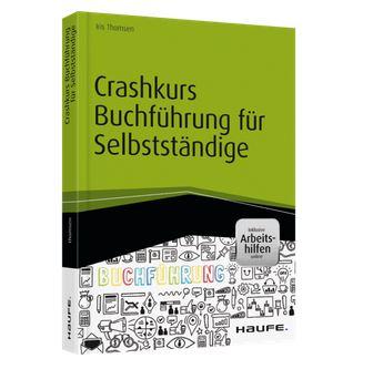 Buchcover Crashkurs Buchführung für Selbständige