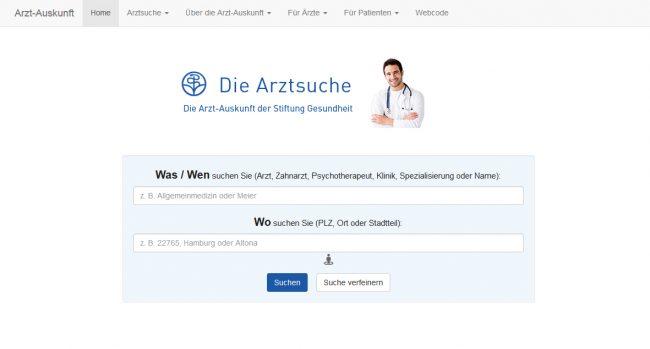 arzt-auskunft-screenshot