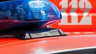 Blaulicht eines Feuerwehrfahrzeugs