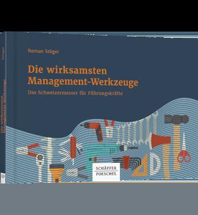 """Buchcover """"Die wirksamsten Management-Werkzeuge"""""""
