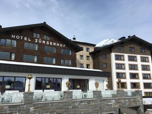 Außenansicht Zürserhof am Arlberg