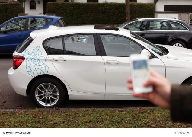 BMW für Carsharing und Kunde