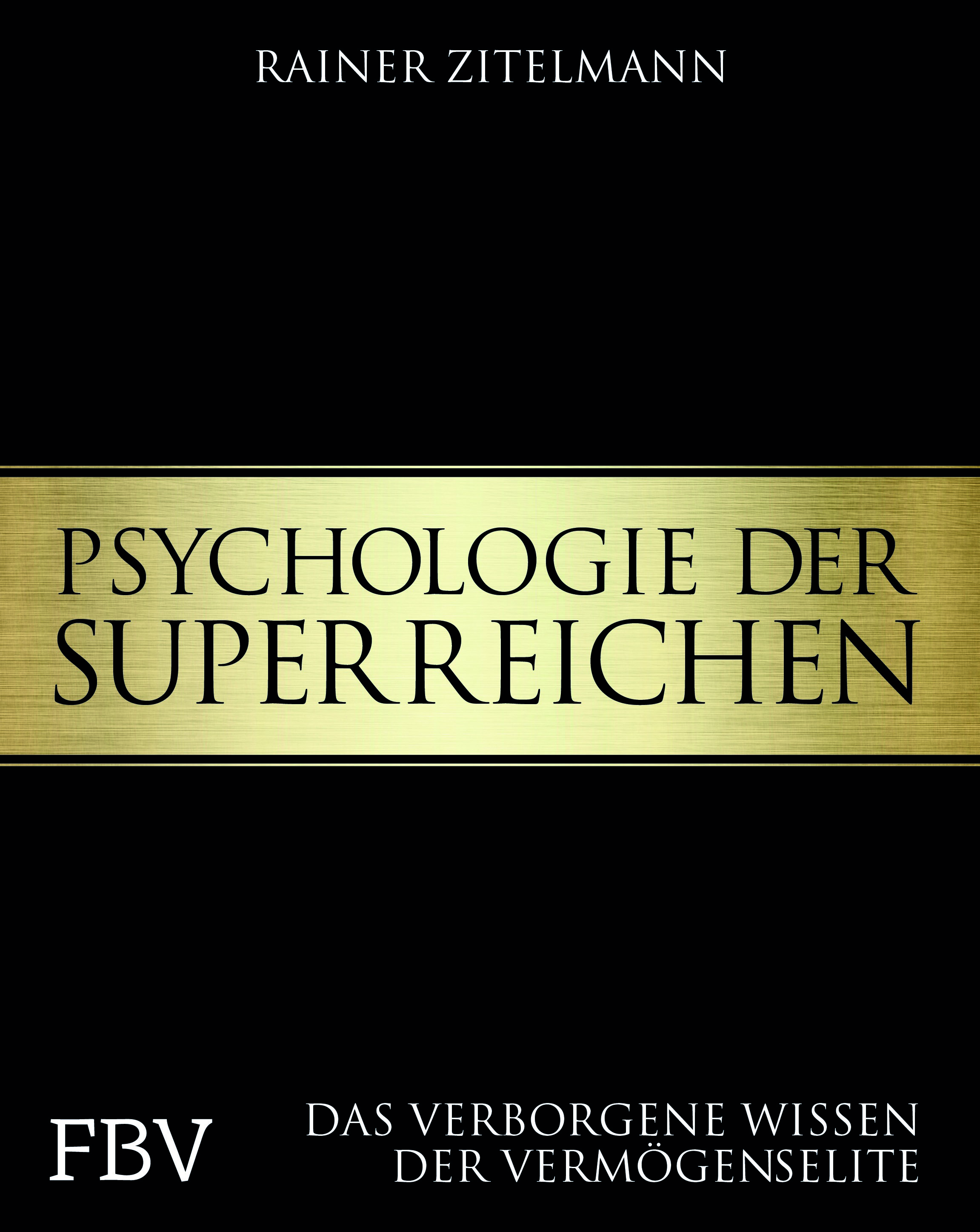 """Buchcover """"Psychologie der Superreichen"""""""