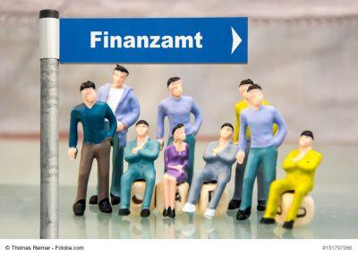 Wegweiser zum Finanzamt