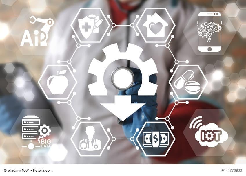 Symbole zur Telematik-Infrastruktur