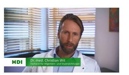 Portrait Dr med Christian Wit