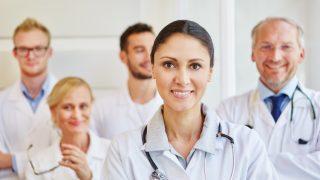 Ärzte und Ärztinnen in der Klinik