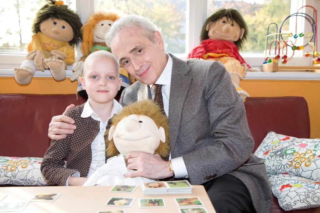 Krebskranke Mira und José Carreras