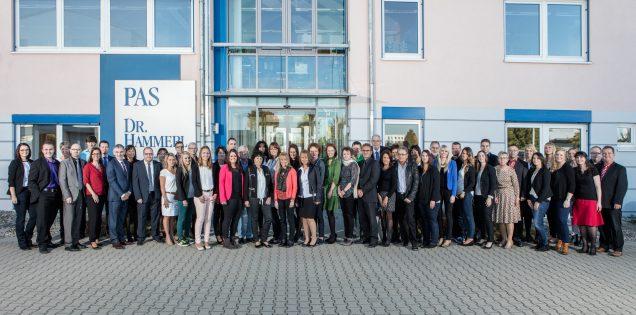 Gruppenbild Mitarbeiter der Firma PAS Dr. Hammerl