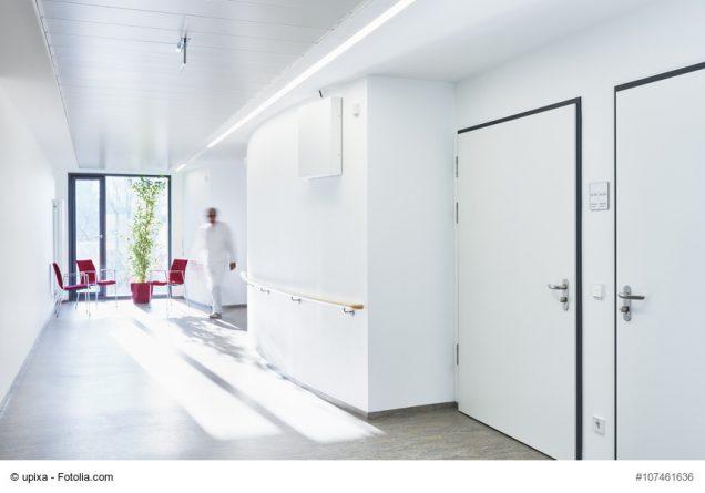Flur in einer Klinik