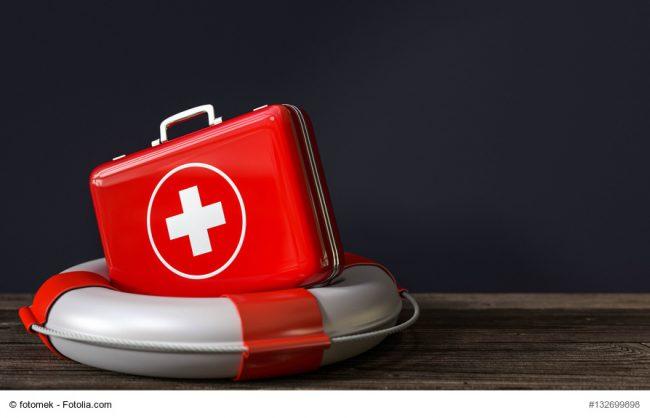 3d Rettungsreifen mit Arztkoffer