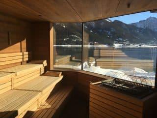 Saunabereich im Hotel Post am See