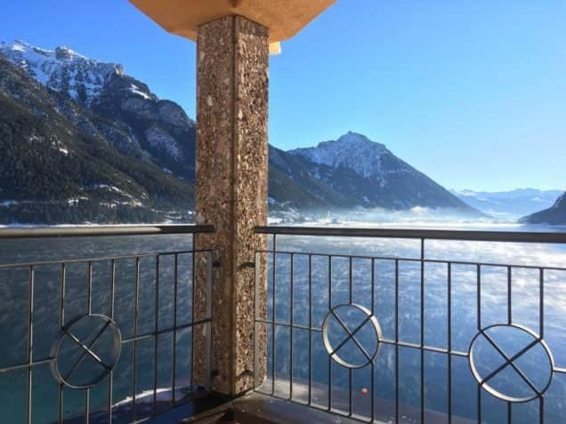 Ausblick vom Hotel Post am See in Pertisau