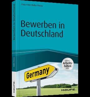 Buchcover Bewerben in Deutschland Haufe