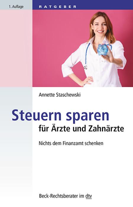 """Cover """"Steuern sparen für Ärzte und Zahnärzte"""""""