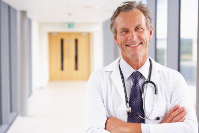 Arzt in einer Klinik