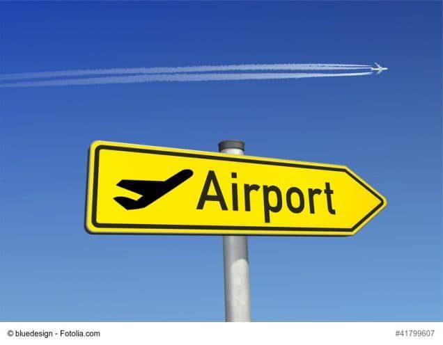 Wegweiser Airport