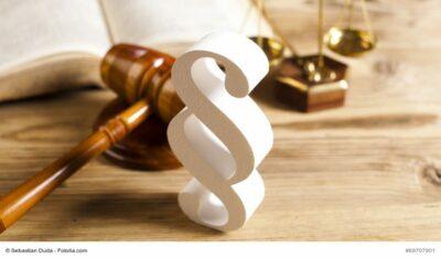 Gesetzestext, Prozesshammer und Paragraf