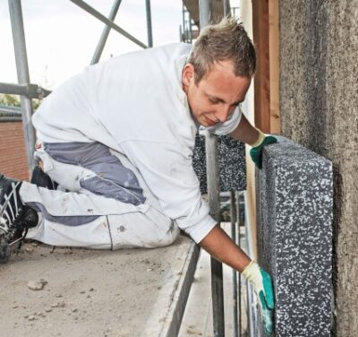 mounting thermal insulation boards