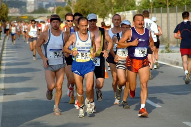 Läufer bei den Sportweltspielen 2018