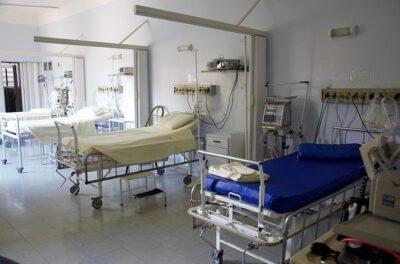 Zimmer in einem Krankenhaus