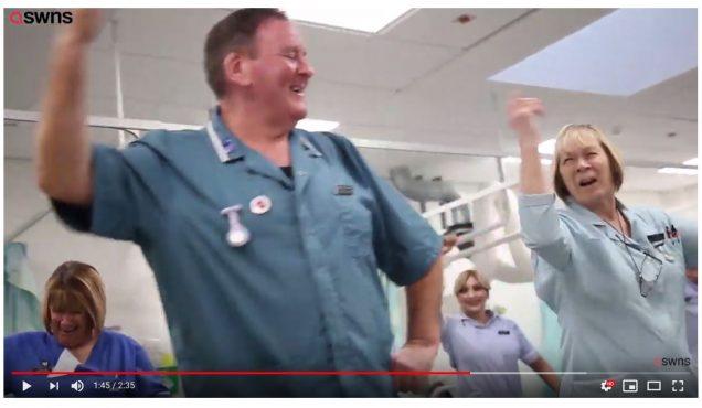 Tanzende Ärzte
