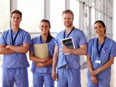 Junge Mediziner