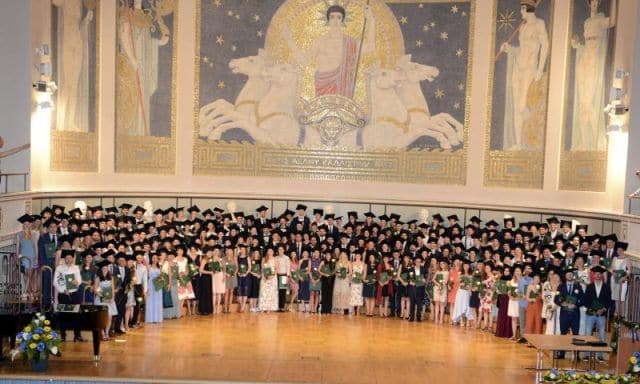 Abschlussfeier der LMU