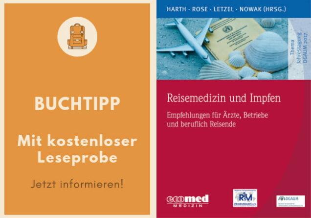 Buchcover Reisemedizin und Impfen
