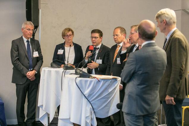 Diskussionsrunde auf dem Gesundheitskongress München