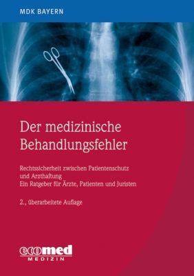 Cover der medizinische Behandlungsfehler