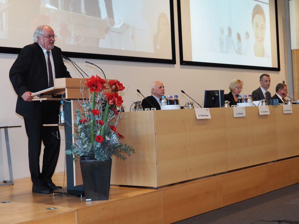 Vertreterversammlung der KVB