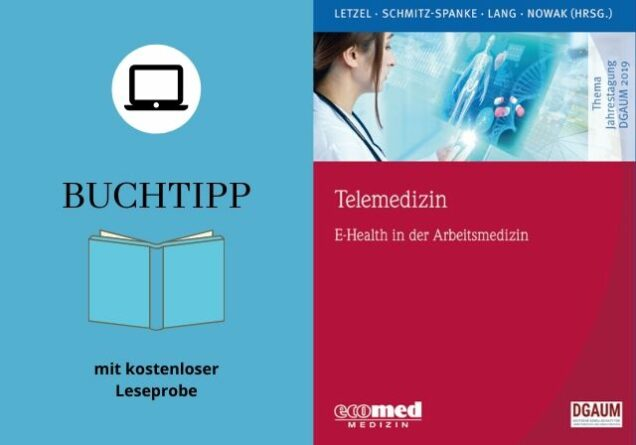 Cover Buchtipp Telemedizin