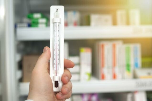 Kühlschrank mit Medikamenten