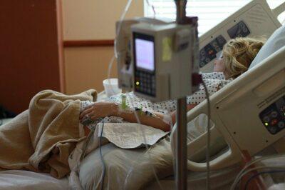 Patient auf Intensivstation
