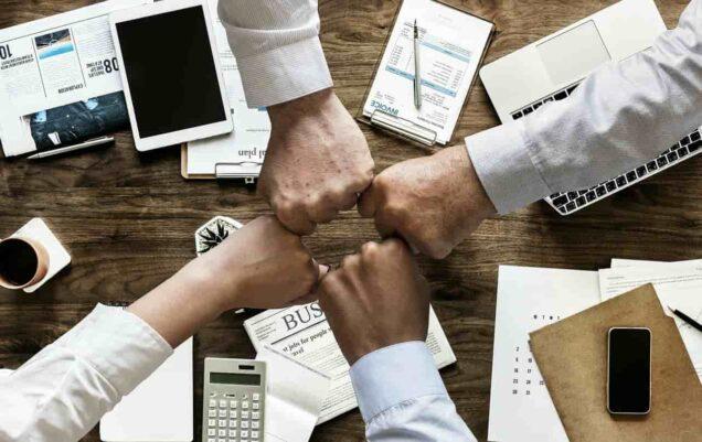 Papier, Geschäft, Finanzen