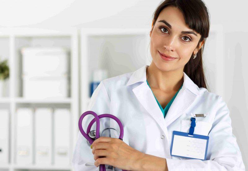 Selbständige Ärztin in eigener Praxis
